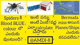 How property tax is calculated in telugu Why blood is blue in teluguBermudatriangle mysterytelugu