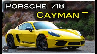 homepage tile video photo for The Porsche 718 Cayman T Is Brilliant, but Head-Scratching - Two Takes