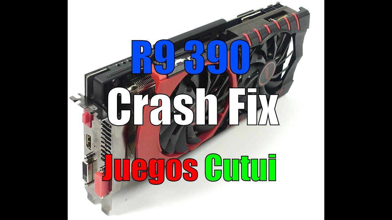 r9 390 crash fix