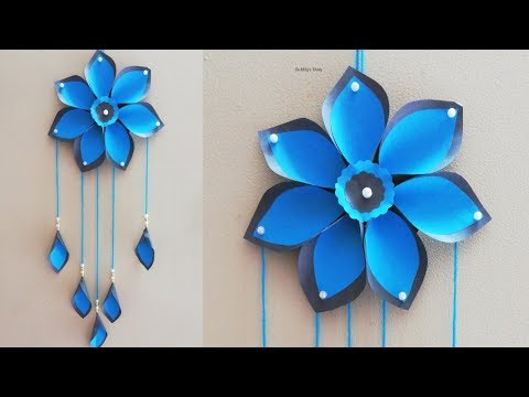 Easy Wall Hanging - Home Decorating Ideas - Paper Craft Wall Hanging - Paper Crafts Easy
