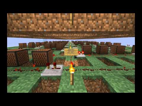 Minecraft Note Blocks - Don't Stop Me Now