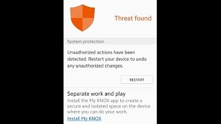How to fix unauthorized actions have been detected thumbnail
