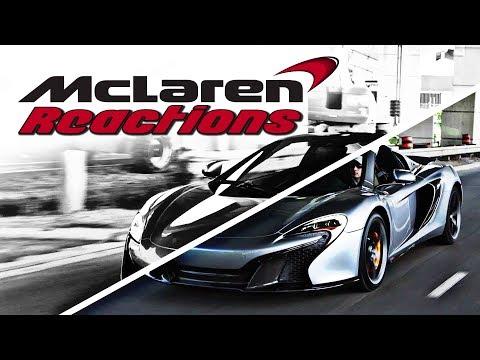 "McLaren ""McDurry"" Supercar City Reactions!"