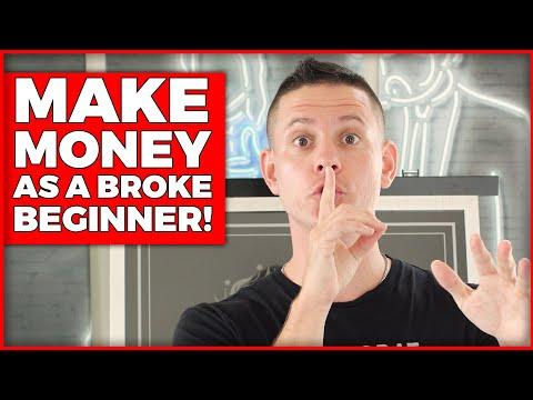 Best Way To Make Money Online As A Broke Beginner In 2021 (Available Worldwide!)