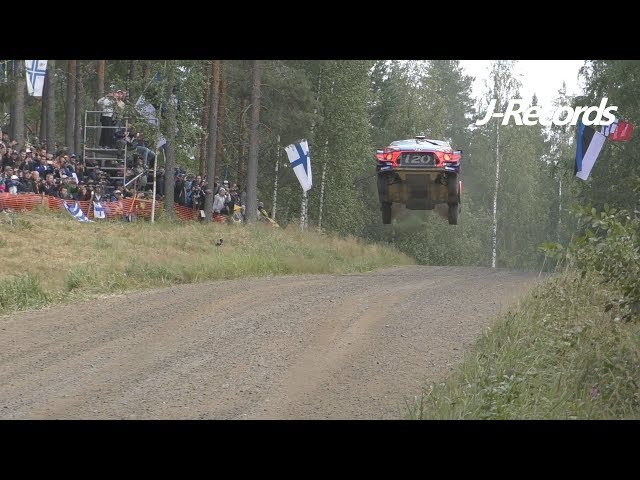 WRC Rally Finland 2019 - FLAT OUT & BIG JUMPS