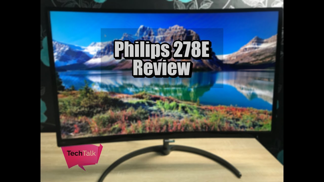 Philips Curved Monitor