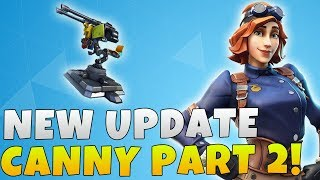 Fortnite Save The World Update 6.31 Patch Notes | Fortnite NEW Airheart Turret Constructor