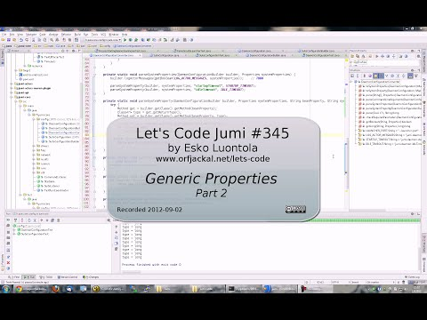 Let's Code Jumi #345: Generic Properties (Part 2)