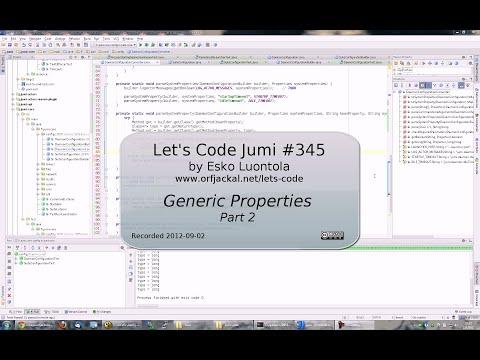 Let's Code Jumi #345: Generic Properties (Part 2)