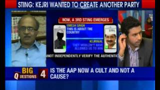 Sting: Kejriwal threatens to quit AAP & launch a new political party