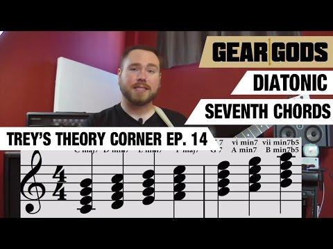 Diatonic Seventh Chords - Trey's Theory Corner Episode 14 | GEAR GODS