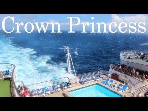 Crown Princess Ship Mediterranean Cruise