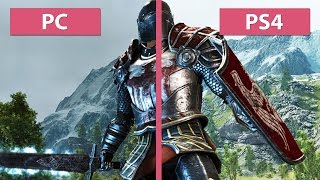 ArcaniA - Gothic 4 – PC vs. PS4 Graphics Comparison [60fps][FullHD]