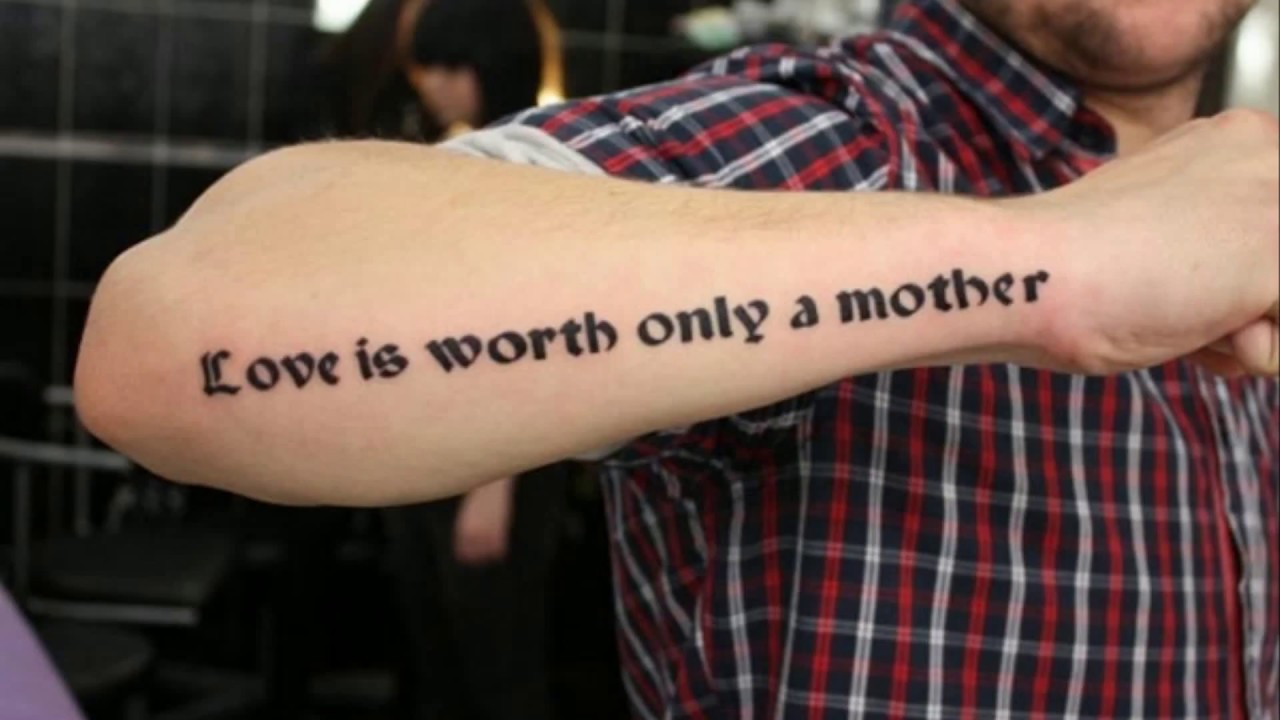 Best Tattoo Quotes For Men