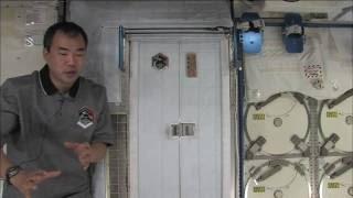 国際宇宙ステーション(ISS)長期滞在中の野口聡一宇宙飛行士が宇宙食を...