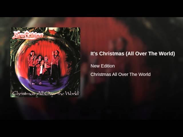 New Edition – It's Christmas (All Over The World) Lyrics | Genius Lyrics