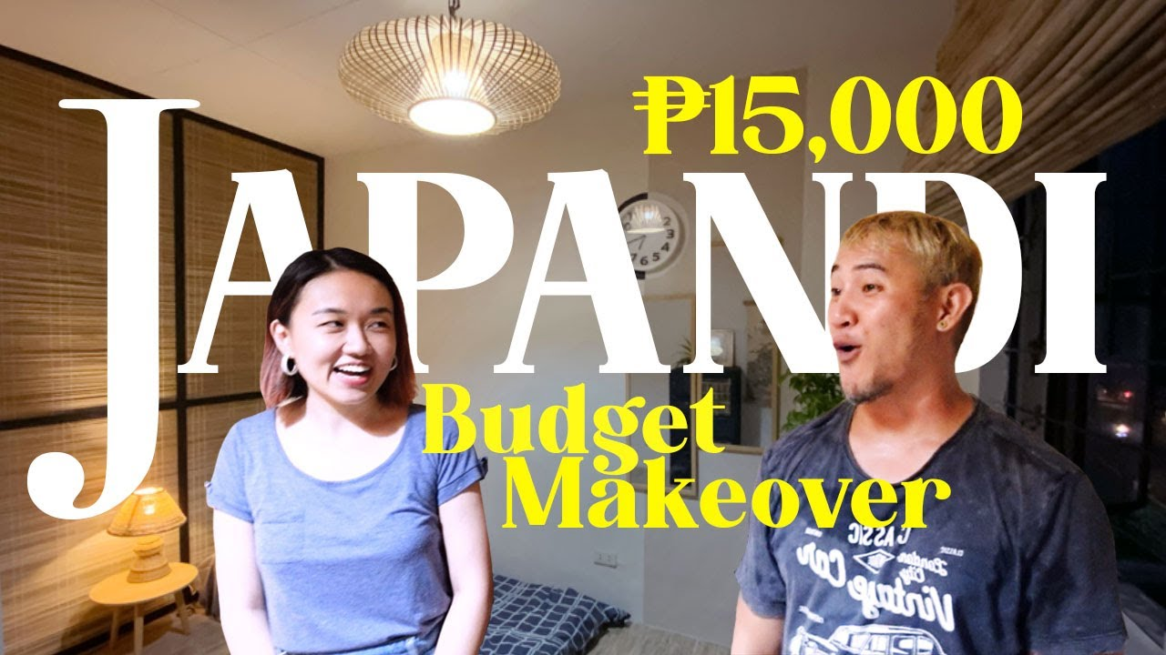 ₱15,000 Japandi Bedroom Makeover 🇯🇵 // Fun Budget Makeover with Friends! 😄💯