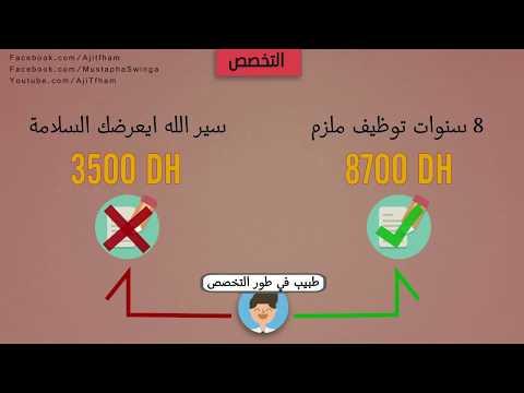 أجي تفهم مسار طالب الطب في المغرب