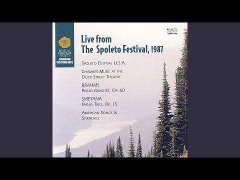 Piano Trio In G Minor, Op. 15, Allegro Ma Non Agitato