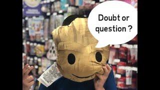 Doubt or Question ? *Inscreva-se no canal *