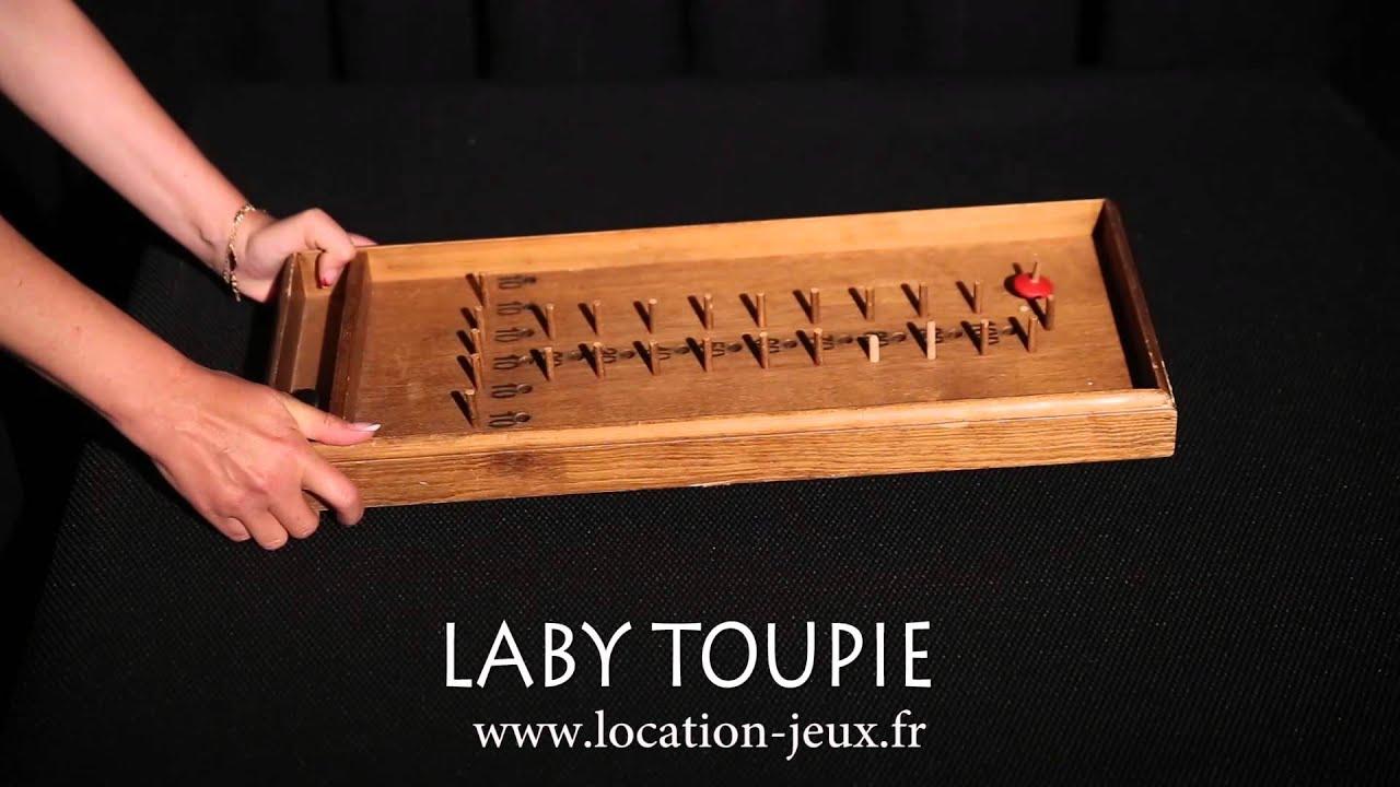 le laby toupie location de jeux en bois en picardie 80 60 02 youtube