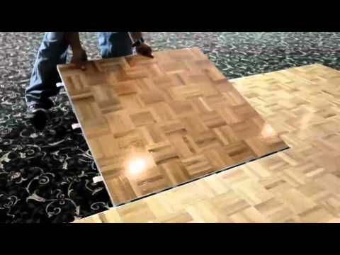 Portable Dance Floors   YouTube