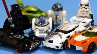 обзор Хот Вилс Звёздные Войны. Видео про Машинки Хот Вилс на русском языке. Игрушки для Мальчиков