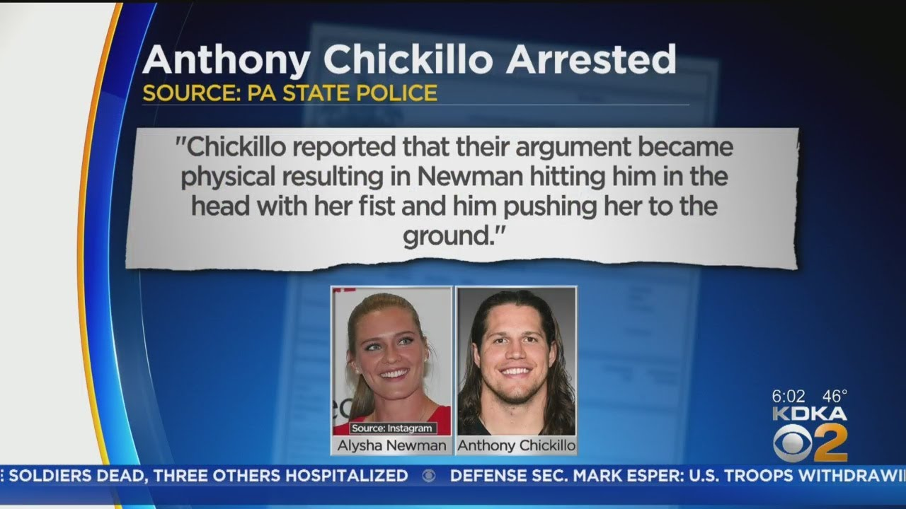 Anthony Chickillo, Steelers linebacker, arrested for allegedly assaulting girlfriend