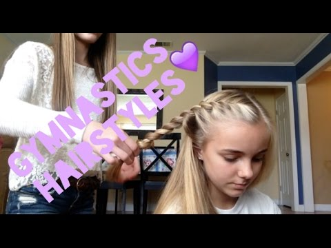 Gymnastics Hairstyles - YouTube