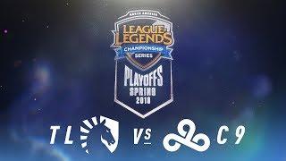 TL Vs. C9    NA LCS Spring Playoffs   Quarterfinals Game 1   Team Liquid Vs. Cloud9 (2018)