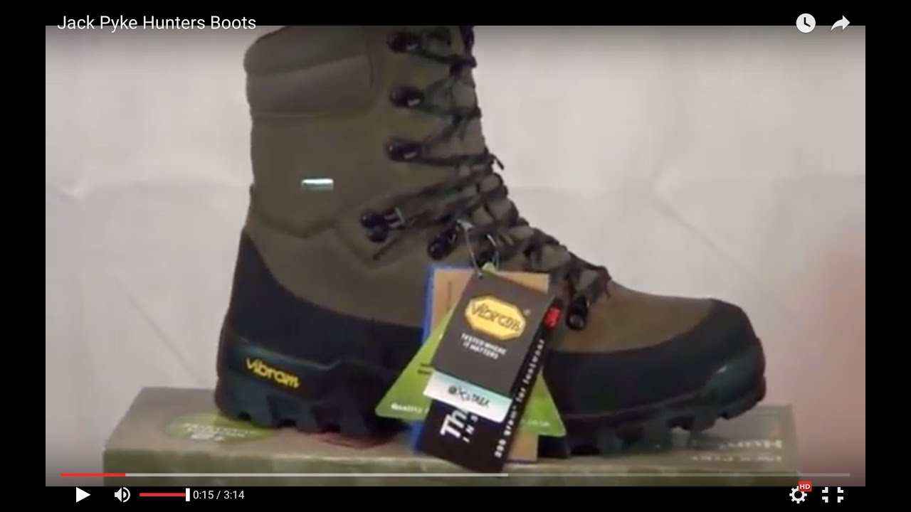 Jack Pyke Hunters Boots Review - YouTube