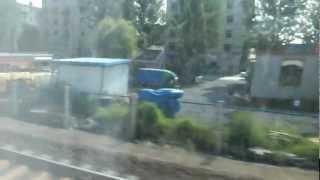 大連→瀋陽北の車窓から 瓦房店出発