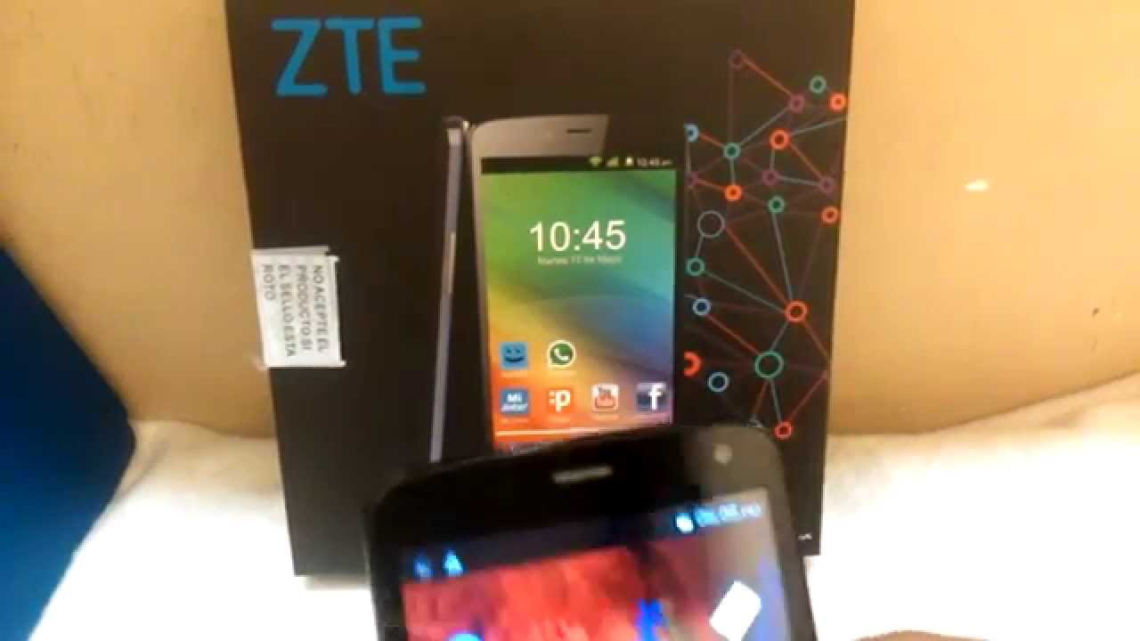 Zte L2 Plus Accesorios Y Funciones Basicas