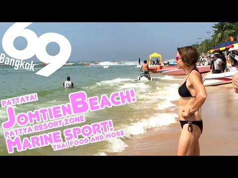 Pattaya Jomtien Beach / Day Time