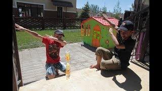 БУТЫЛКА ВОДЫ ЧЕЛЛЕНДЖ Water Bottle Flip Challenge Как мы развлекались на Иссык-Куле