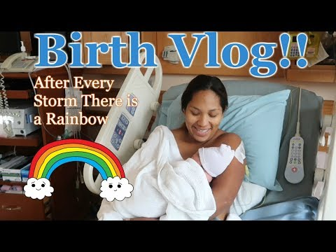 Labor and Delivery Vlog | Rainbow Baby!