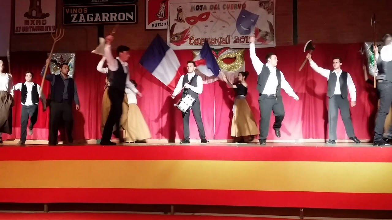 Elecci n reina del carnaval 2016 los perchas mota del for Perchas cano