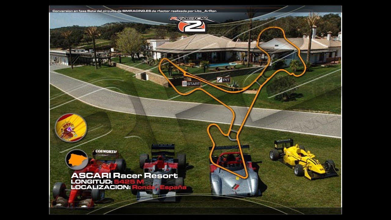 Circuito Ascari : Ascari race resort circuito rfactor 2 by lito arron youtube