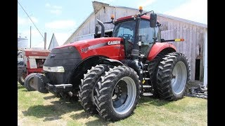2014 CaseIH Magnum 340 with 1822 Hours Sold on Iowa Farm Auction Yesterday