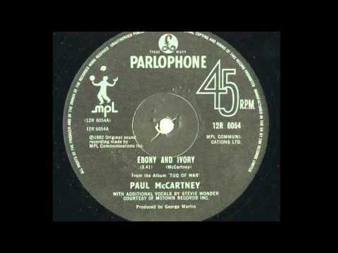 Paul McCartney 'Ebony and Ivory (Remix 2015)' feat Stevie Wonder