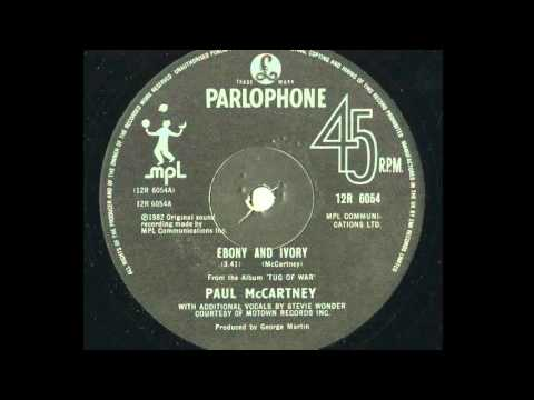 Who sang ebony and ivory — 3