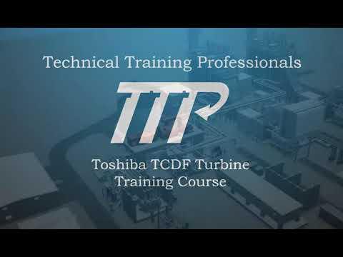 Toshiba TCDF Steam Turbine