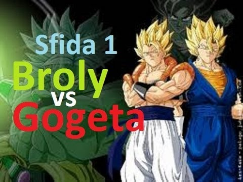 Broly vs Gogeta ssj4 - Dragon Ball Ultimate Tenkaichi ...