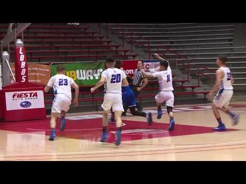 State Bosque School Elijah Davidson slam dunk