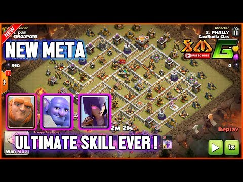 Clash of Clans⭐OMG ! ULTIMATE SKILL EVER⭐6-7-10 GIANTS+BOWLER WITCH⭐THE BEST TRATEGY !