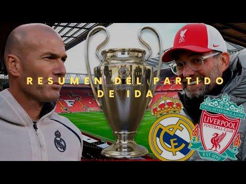 Real Madrid vs Liverpool Resumen 2021