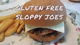 Sloppy Joes On Udi's Gluten Free Buns