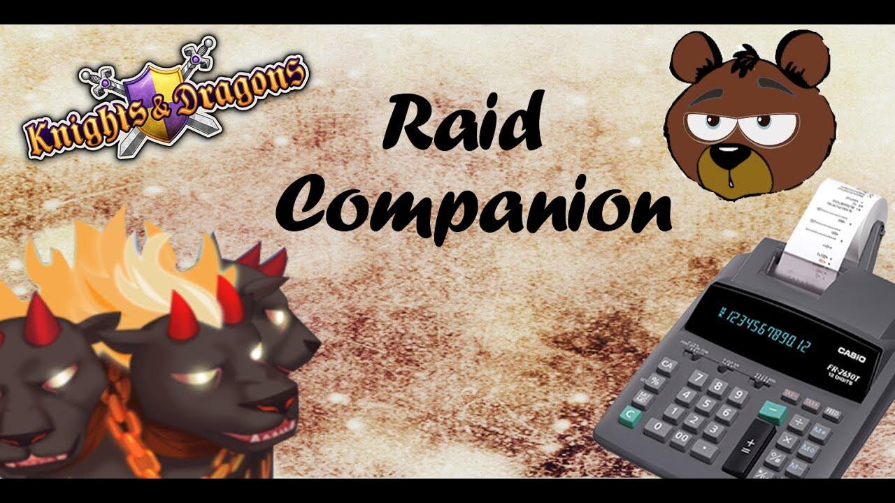 Kdbrasil Raid Companion Calculadora De Raid Youtube