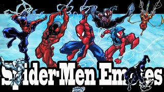 Marvel Super Hero Squad Online Spider-Men and Friends Power Emotes- HD
