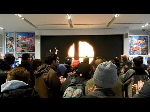 Nintendo Direct 3.8.2018 Live Reactions at Nintendo NY
